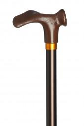 Gehstock Comfort anatomisch bronze (links)
